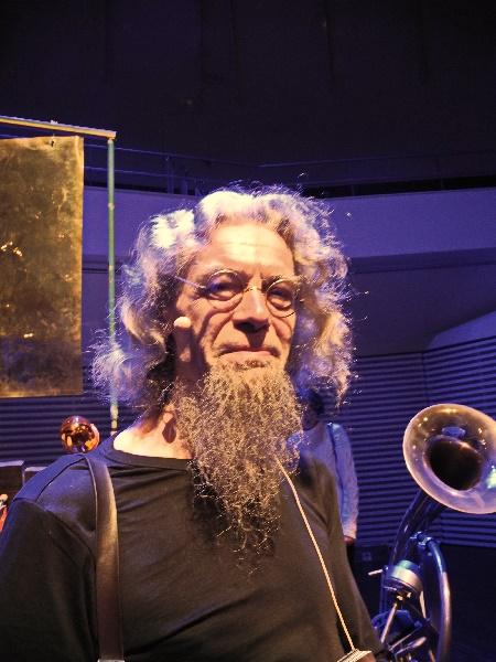 Godfried-Willem Raes, Gründer des Robot Orchestra, Foto Ursula Wiegand