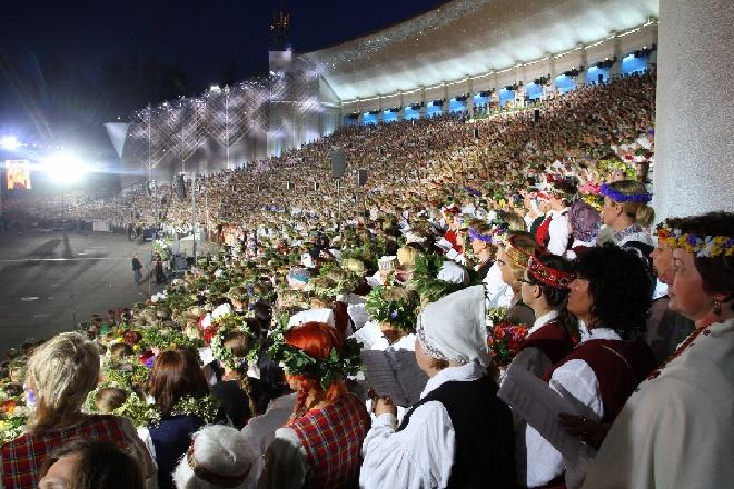 Lettland, Gesangs- und Tanz-Festival, Foto Latvian National Centre for Culture