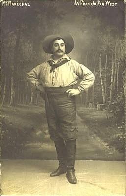 Adolphe Marechal als Dick Johnson