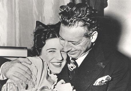 Claudia Pinza mit ihrem Vater
