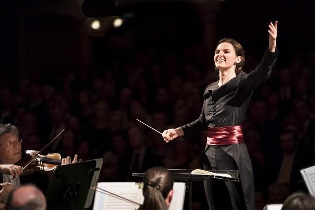 OKSANA LYNIK bei Ihrem umjubelten Eröffnungskonzert in der Grazer Oper