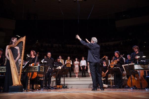 L'Orfeo, geleitet  von John Eliot Gardiner, Copyright Carolina Redondo