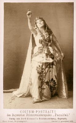Marianne Brandt als Kundry in Bayreuth