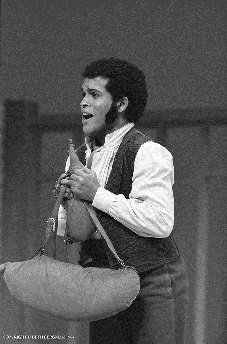 Philip CREECH als Pedrillo an der MET
