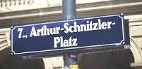 Schnitrzler Platz Schild x