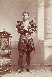Albert Saléza als Otello