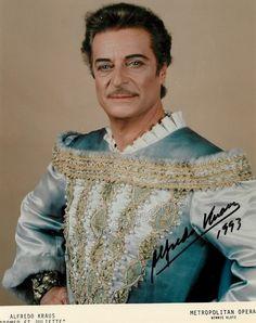 Alfredo Kraus als Roméo an der MET