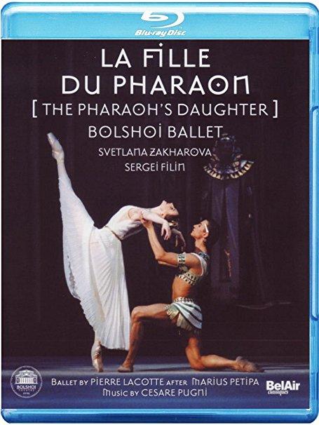 DVD Cover  Ballett  La Fille du Pharaon