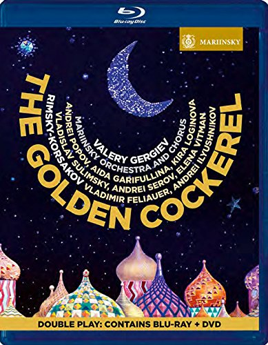 DVD Cover  Rimski Korsakow  The Golden Cockerlel