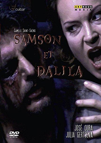 DVD Cover  Saint Sanes  Samson und Dalila