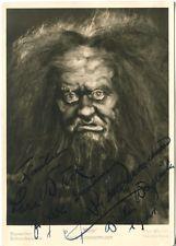 Erich Zimmermann als Mime