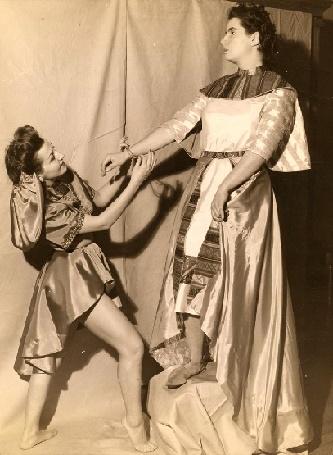 Eunice Alberts als Amneris
