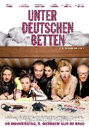 FilmPoster  Unter deutschen Betten~1