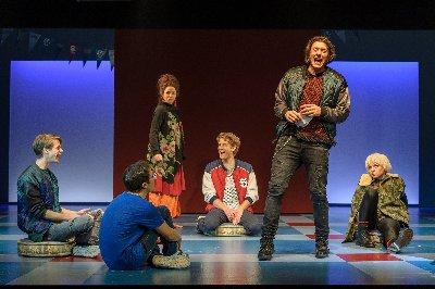 Theater der Jugend • Der Fluch des David Ballinger / von Louis Sachar • in der Übersetzung und Bühnenfassung von Thomas Birkmeir