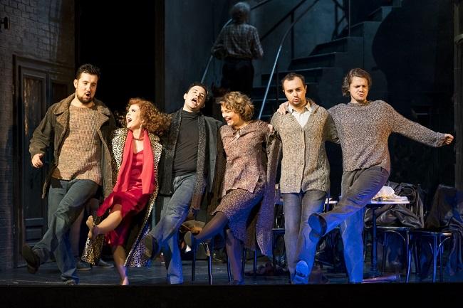 Das perfekte Jungensemble der Grazer Oper Foto: w.Kmetitsch