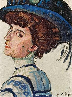 Hodler Valerie mit Hut~1