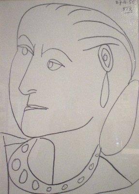 Rubinstein Picasso Zeichnung~1