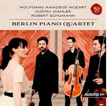 CD Cover Berlin Piano Quartett~1