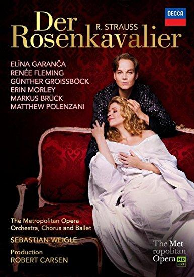 DVD Cover  Der Rosenkavalier Met
