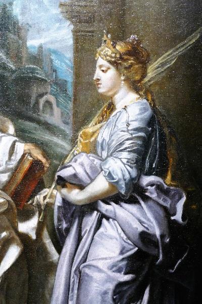 Domitilla von Peter Paul Rubens Ausschnitt aus dem Jahr 1606 Foto Andrea Matzker P3720562