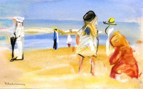 Figuren am Strand von Max Liebermann Foto Andrea Matzker P3720692
