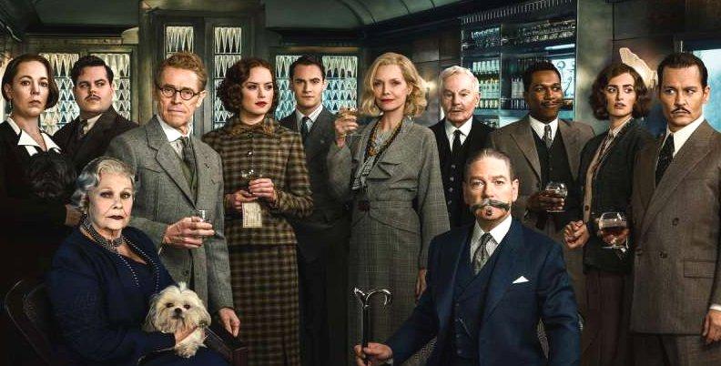 Mord im Orient Express Gruppenfoto x