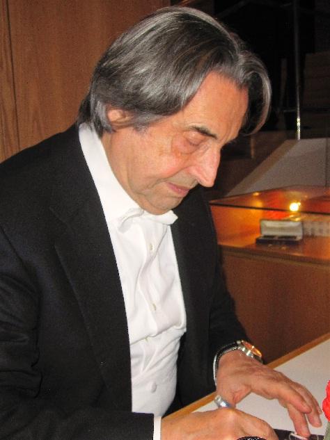 Riccardo Mutii in der Kölner Philharmonie Foto Andrea Matzker IMG_0196
