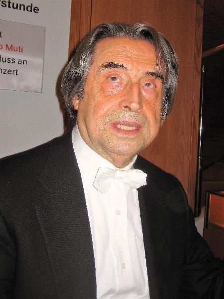 Riccardo Mutii in der Kölner Philharmonie Foto Andrea Matzker IMG_0197b