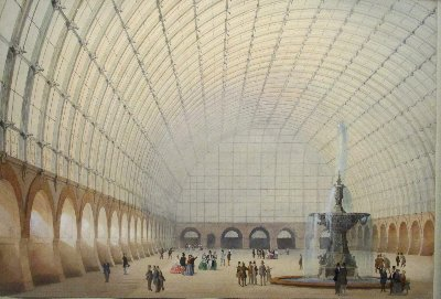 Architekturzeichnung Halle~1
