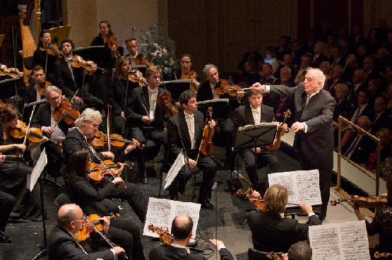 Daniel Barenboim dirigiert das Konzert zum 275. Geburtstag der Staatsoper Unter den Linden, Foto Holger Kettner