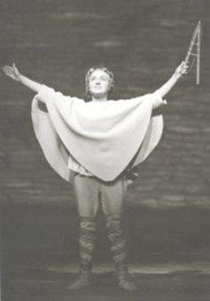 Else-Margrethe GARDELLI als Hirtenknabe im Tannhäuser in Bayreuth