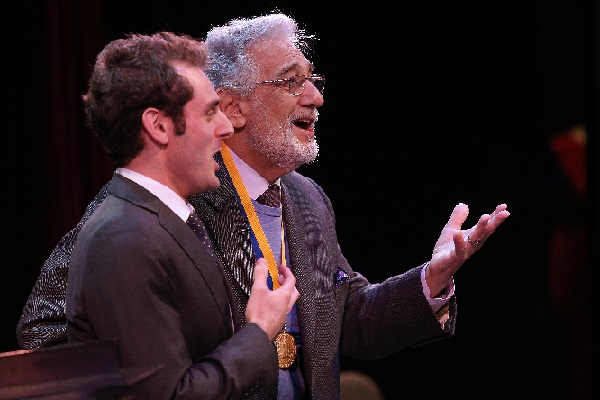 Eric Levontow and Placido Domingo 1