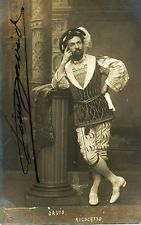 Léon Davis als Rigoletto-Herzog