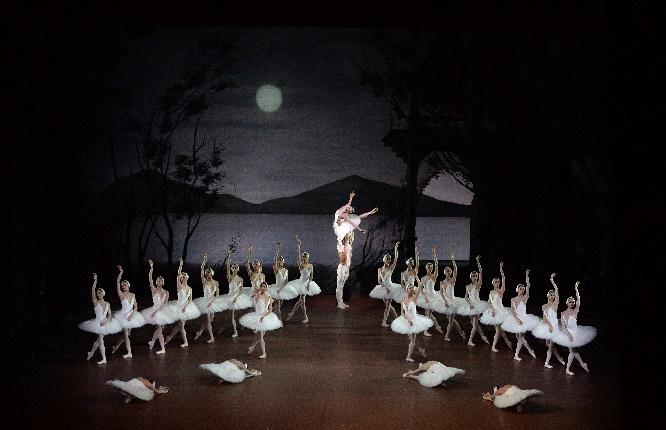 Schwanensee 2 Corps de ballet, Amatriain,Vogel  6.12.2017