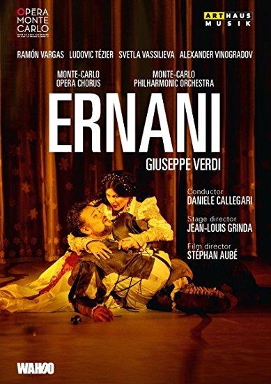 dvd cOVER ERnani