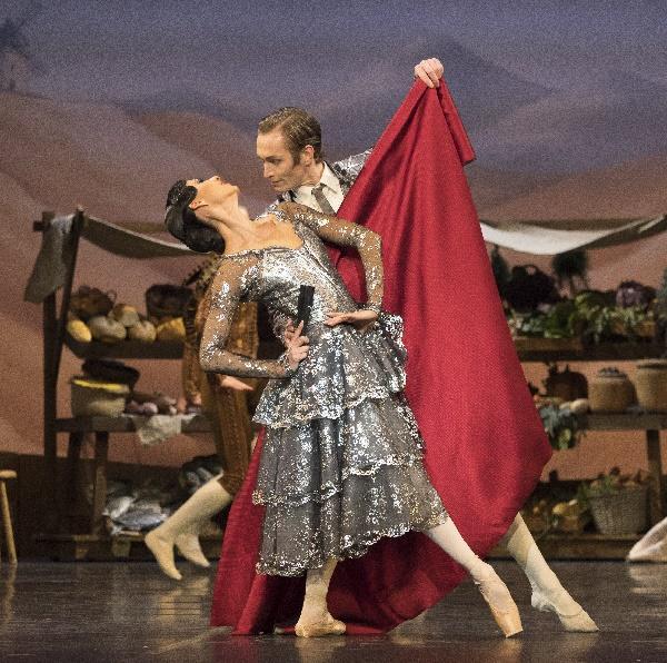 Don Quixote, Elisa  Carrillo Cabrera und Alexej Orlenco, Foto Fernando Marcos