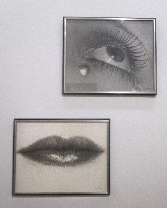 Man Ray Augen mund x~1
