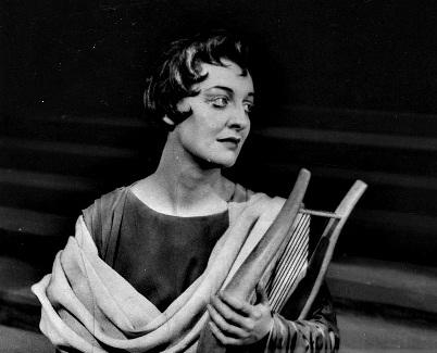 Norma Procter als Orpheus