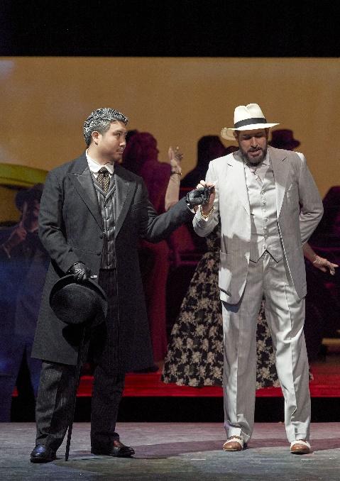 Rauschendes 20er Jahre Gentleman Kostüm Herren Weiß mit Anzugjacke Hose und