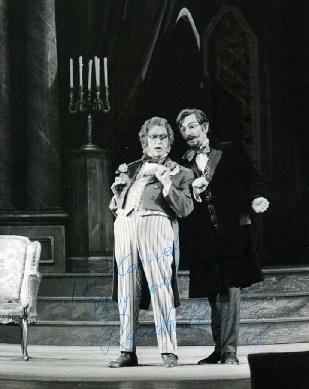 Ricrado Yost Und Renato Cesari In Don Pasquale