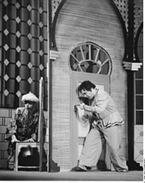 Erich Siebenschuh Als Abu Hassan Mit Peter Schreier