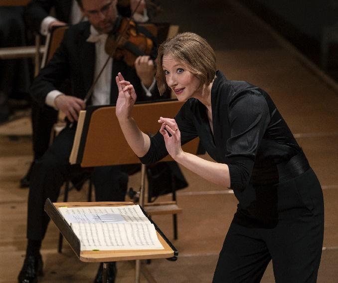 Joana Mallwitz Mit Konzerthausorchester Am 28.11.2020, Foto Martin Walz