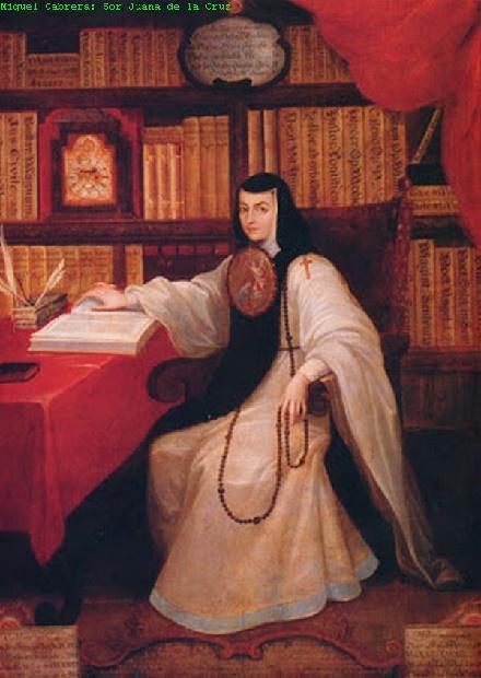 Sor Juana Inés De La Cruz (miguel Cabrera)
