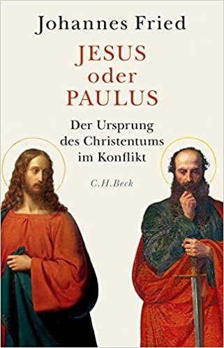 Buchcover Frued Jesus Oder Paulus