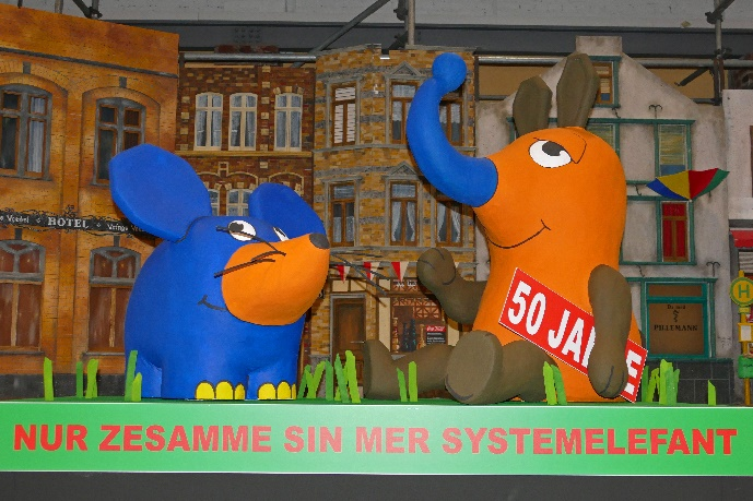 Kölner Rosenmontagszug 2021 50 Jahre Die Sendung Mit Der Maus Foto Andrea Matzker P4900522 (2)