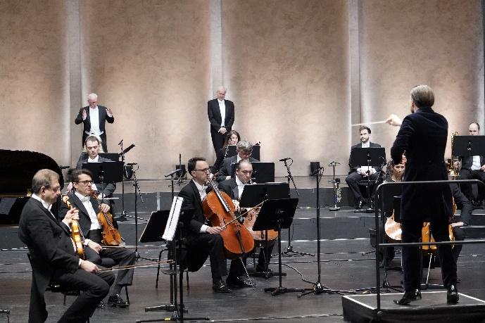 ariadne auf naxos meister,gantner,schmidt,orchester tag bild9