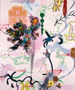 fiona rae wonderland 2004 albertina wien esslcollection c bildrecht 2021 c buchmanngalerie koeln 1.720x0~1
