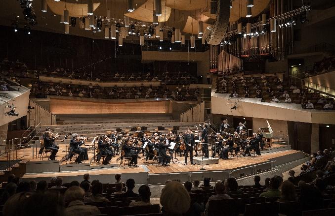 berliner philharmoniker mit philippe jaroussky und jean christophe spinosi, foto stephan rabold