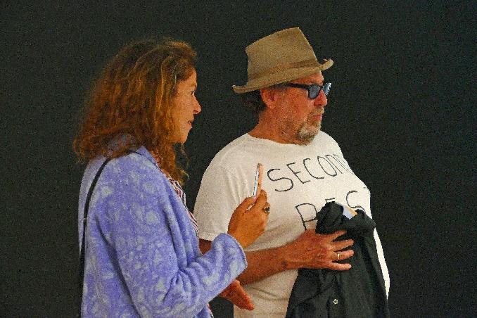 julian schnabel mit seiner tochter lola foto andrea matzker p4930914