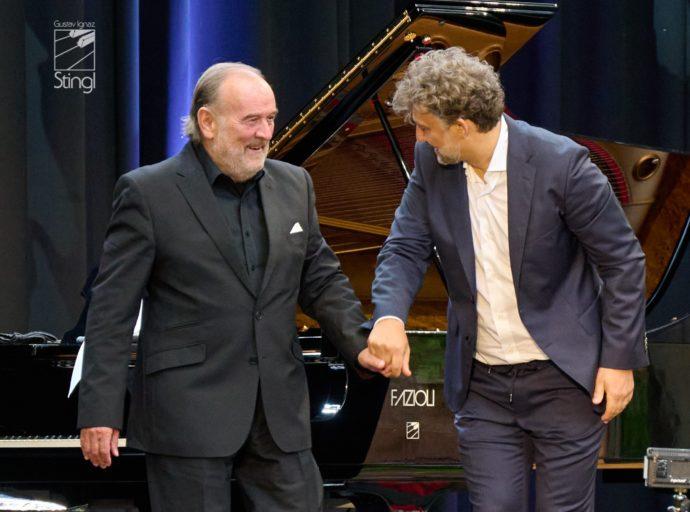 Helmut Deutsch und Jonas Kaufmann